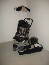 Set Buggy/Wanne plus Fuss- Sack